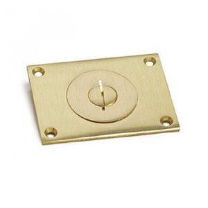 AP-6304-S Floor Box Cover in Brass or Aluminum for Concrete Floors