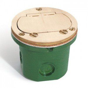 Flip lid Round Floor Box Cover