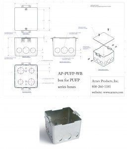 for Round floor box for concrete cut sheet