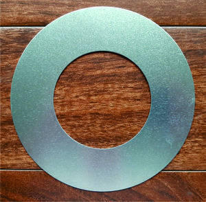 Aluminum Finisheing Ring 4 inch I.D. for floor box covers to correct bad cuts in the floor.