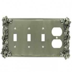 Grape Design Switchplates