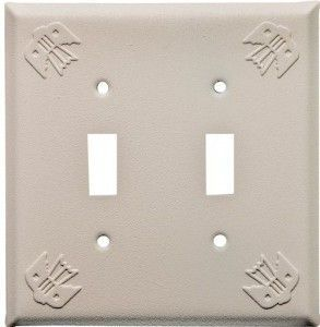 Arizona Sand Thunderbird Design Switch Plates