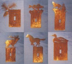 Rustic Animals Switch Plates