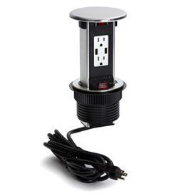 Ap Pur Series Round Kitchen Counter Spill Proof Pop Up Outlets