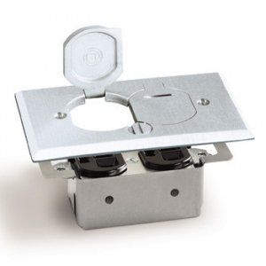 AP-RRP-2-LR-A Floor Box for duplex Flip lids