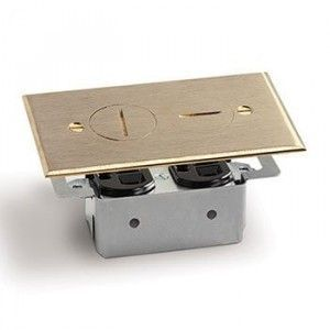 Outlet Wood Floor Box