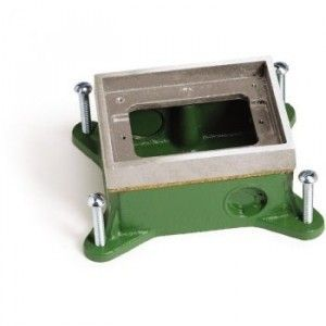 AP-SH-1101-58 Shallow Flush Mount Floor Box for Concrete Floor