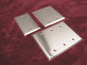 Stainless Steel Blank switch plates