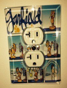 glass outlet cover_custom_garfield