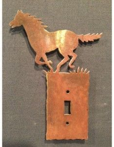 Horse switch plates