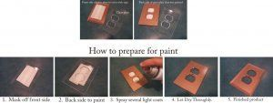 painting instructions_glass switch plate
