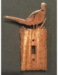 Pheasant switch plates