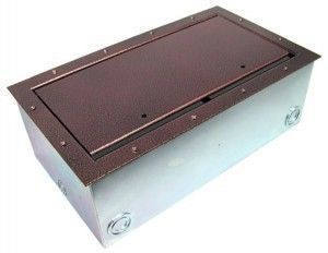 Super Double Pocket AV Floor Box