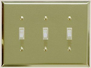 brass switch plates