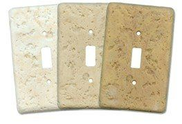 More sample finishes our our Stonize switch plate cover produdts
