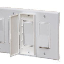switchgards for switch plate covers to prevent turning the switch on or off by accident