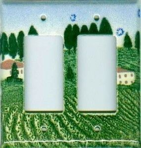 Tuscan Design switchplates